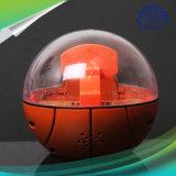 小型手持ち型のやしバスケットボールのおもちゃのライトおよび音楽の電子指先のバスケットボールのやしシュートのゲームのおもちゃ