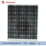 Modulo solare di vetro del certificato 55W del Ce