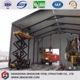 Китай промышленные стальные конструкции здания из сборных конструкций нового склада на заводе