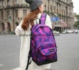 Bwf1-221 модных девочек School-Bag сплошным цветом сумки через плечо Knapsack мешок