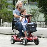 道の障害者のための電気移動性のスクーターを離れた高い発電4の車輪