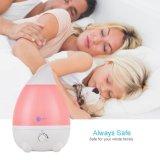 Humidificadores para dormitorio oficina en casa habitación del bebé Yoga gran capacidad de 2.6L/0,68 gal ultra silencioso con Waterless Rosa de Protección de apagado automático