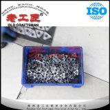 Carburo cementado del tungsteno que ajusta la calza del CNC de Itsn