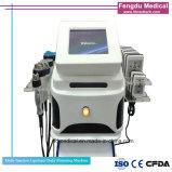 Bewegliche Lipolaser +Cativation+RF+Vacuum Multifunktionsmaschine für die Karosserien-Formung