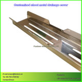 지면 하수구를 위한 부속을 각인하는 스테인리스를 기계로 가공하는 CNC