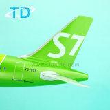 A320neo S7 37,6cm con motor nuevo modelo de avión de la escala de resina
