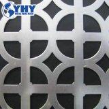 Dekoratives galvanisiertes perforiertes Metallplastikblatt