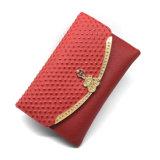 Il più in ritardo raccoglitore alla moda del cuoio dello struzzo dell'unità di elaborazione della borsa di disegno originale Lcq-26 per le donne