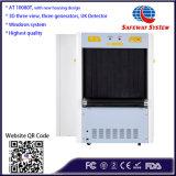 X Strahl-Gepäck-Scanner-Sicherheits-Maschine - FDA u. Cer gefällig