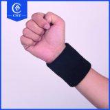 L'abitudine colora il Wristband del tessuto di cotone con il marchio