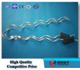 Doppia fascetta ferma-cavo laterale del metallo del legame