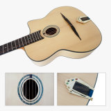 Китай на заводе Aiersi овальной отверстие изготовленной вручную цыганского Акустическая гитара