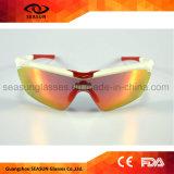 بيع بالجملة صنع وفقا لطلب الزّبون إشارة [أوف] رياضة نظّارات شمس لأنّ خارجيّ ينهي يركض يقود