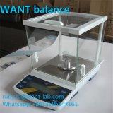 0,1 mg 0,001 g Type d'affichage LCD et Balances de précision d'alimentation de batterie