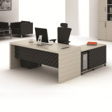 Modern Laminate L-Shape Office Furniture Manager Counts