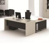 Stratifié moderne L-forme de tableau de gestion de mobilier de bureau