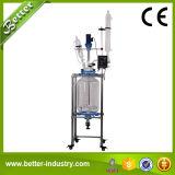 Reactor de cristal vestido del biorreactor