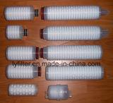"""水のための2.5の"""" 5つの""""インチPP/Pes/PTFE/Nylon/PVDFの空気によってプリーツをつけられるろ過材"""