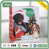 Бумажный мешок, Рождество Cute Doggie бумажных мешков для пыли, подарочный бумажный мешок