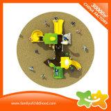 Diapositiva plástica de los juguetes del equipo al aire libre multiusos del patio para los cabritos