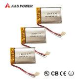 Lithium-Polymer-Plastik Li-Polymer-Plastik Lipo Batterie UL-452540 nachladbare 3.7V 400mAh