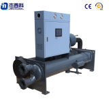 Fabricante de China el tipo de tornillo refrigerado por agua del sistema de enfriadores