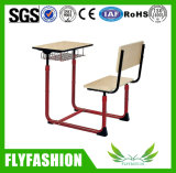 Mobiliario Escolar conectado solo estudiante escritorio y silla (SF-89S)