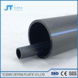 Tubulação preta material nova do HDPE para a fonte de água