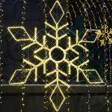 Huit a conduit les lumières de Noël de décoration en étoile