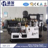 HF-2 de Installaties van de Boring van de Put van het Water van het Type van aanhangwagen voor Harde Rots