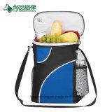 Personalizar el bolsillo frontal Resistente correa de transporte bolso del refrigerador de picnic con cremallera superior