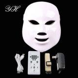 Máscara ligera de la piel de la terapia de la máscara LED de la cara LED de los colores del tratamiento 7 del acné