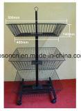 중국 공장에서 소매 회전 식료품점 가구 우산 진열대 선전용 선반