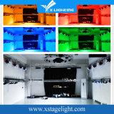 7PCS kann wasserdichter im Freien lautes Summen LED flacher dünner NENNWERT helles Stadiums-Beleuchtung