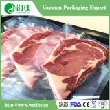 Sac de empaquetage de poissons de viande de poche de légumes de saucisse de vide de PE de PA de sachet en plastique de nourriture