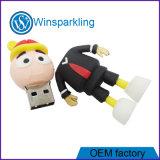 Kundenspezifischer Form USB-Stock mit Marke USB-Stock-Speicher