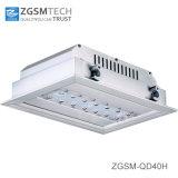 주유소 점화를 위한 표면에 의하여 거치되는 40W LED에 의하여 중단되는 빛