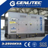 Малошумный звукоизоляционный генератор Cummins 320kw 400kVA тепловозный
