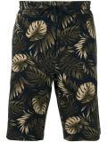 le pantalon court estampé occasionnel des hommes 100%Polyester