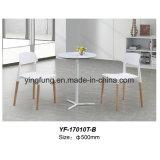 純木(YF-T17004)が付いている新しいデザイン緩和されたガラスのコーヒー茶表