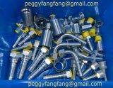 Varón métrico hidráulico 10711 guarnición de manguito de aluminio del cono de 74 grados