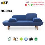 Sofá de madera de los muebles modernos caseros fijado (HC083)
