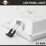 Luz del panel de cristal delgada del cuadrado LED Downlight