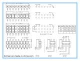 Os pinos 16 2,54 mm Pinos DIP para PCB