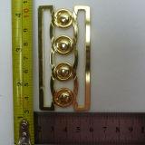 Serratura di torsione del metallo di rettangolo di modo per l'acciaio inossidabile del hardware della borsa