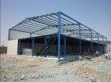 Bastidor de la estructura de acero para construcción taller