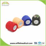Fasciatura adesiva non tessuta elastica medica a gettare per i formati di varietà