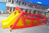 Linha inflável gigante comercial jogo do fecho de correr para os adultos Chsp282