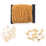 De goedkope Keten van de Manier van het Metaal/de Geparelde Ketting van de Bal (HSC0009)