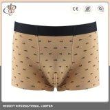 Kundenspezifische Spandex-feste Unterwäschemens-Boxer-Schriftsätze für Männer
